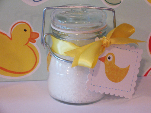 My Weblog: Diary of a baby shower favor