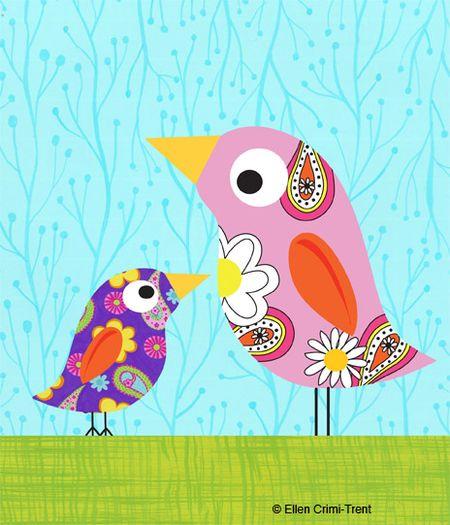Motheranddaughterbirds