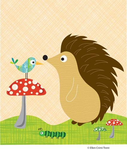 Hedgehogprint