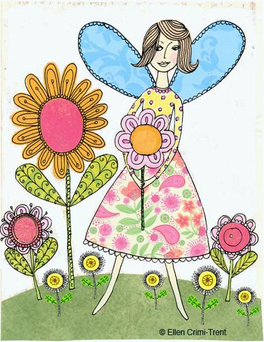 Fairywithflowers
