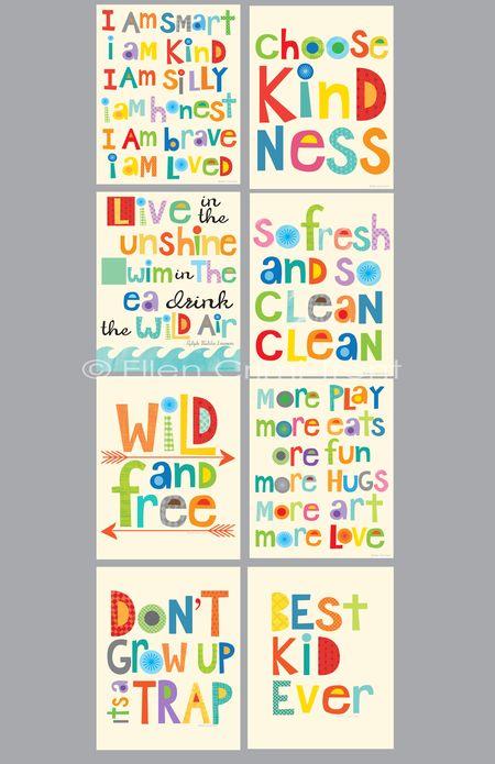 Typography prints long 1