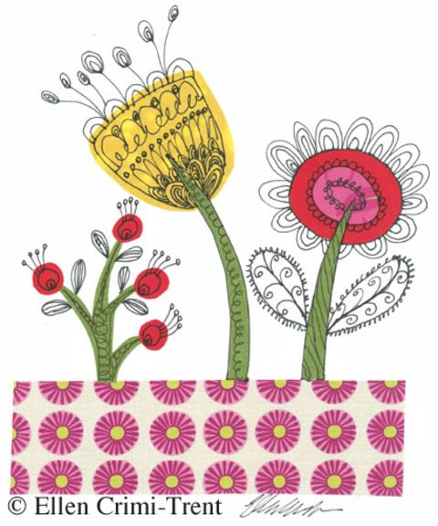 Flowercollagred